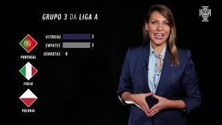 Portugal acolhe a primeira Final Four da Liga das Nações!
