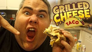 THE GRILLED CHEESE TACO!!