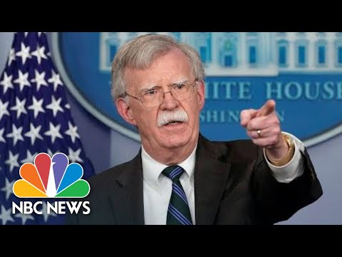 John Bolton On Jamal Kashoggi Tapes: 'What Am I Going To Learn From?' | NBC News