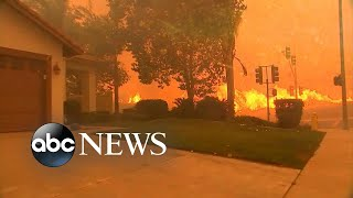 More homes in danger as California wildfire grows thumbnail