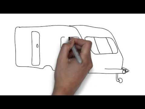 How To Draw Caravan