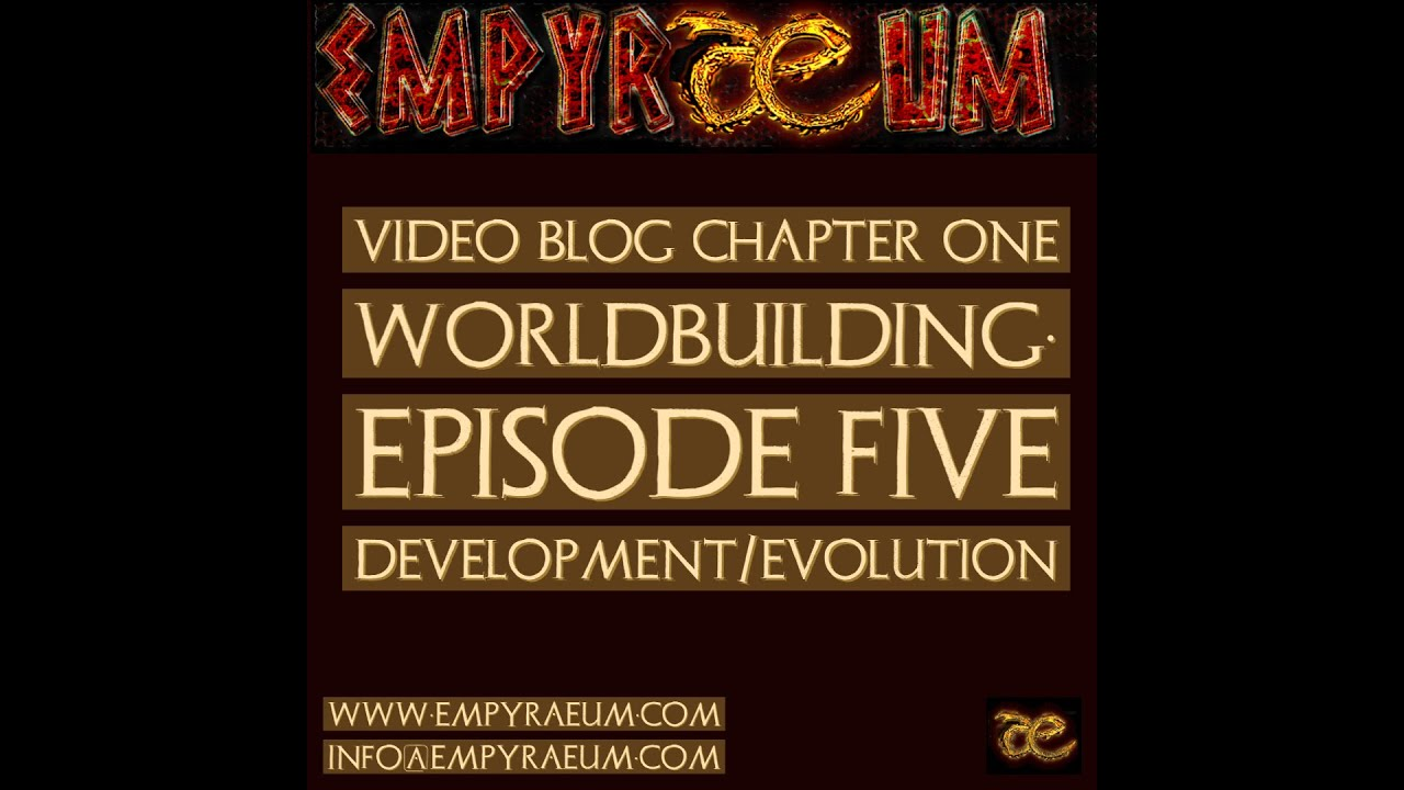 Video Blog Episode Five: Development/Evolution