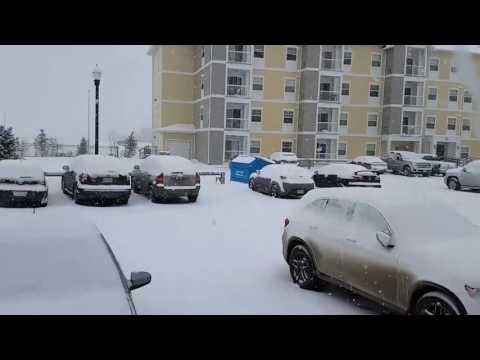 Canada Weather Regina saskatchewan snow fall feb 5th 2017