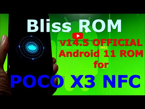 Bliss ROM v14.5 OFFICIAL for Poco X3 NFC (Surya) Android 11