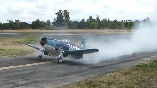 radial engine f4u corsair