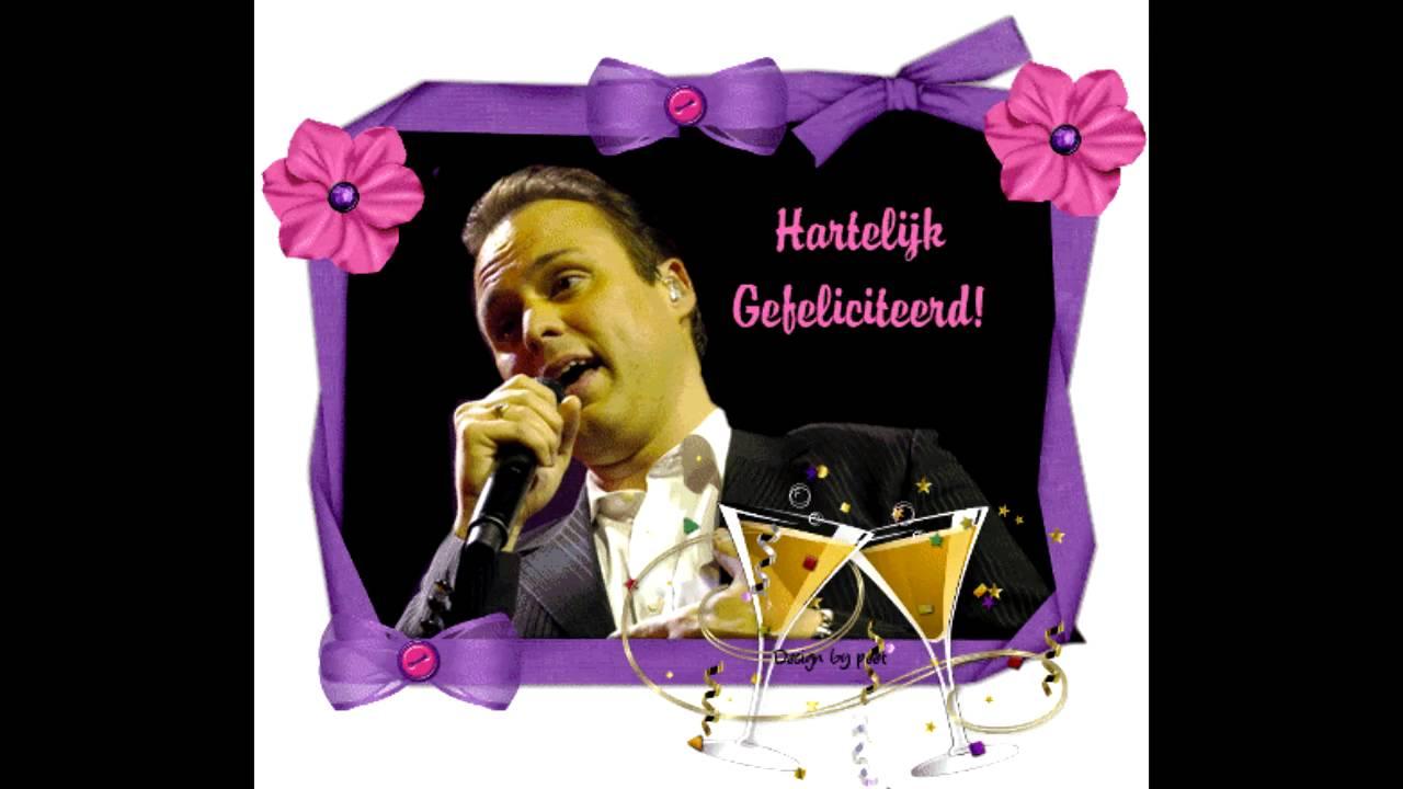 gefeliciteerd met je verjaardag frans Frans Bauer   Van Harte Gefeliciteerd   YouTube gefeliciteerd met je verjaardag frans