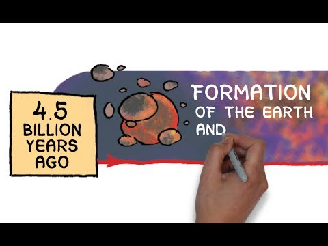 History of the Earth in 5 1/2 minutes
