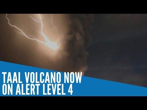 Taal Volcano now