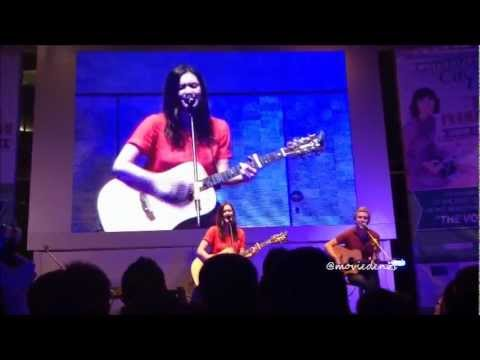 [Fan Cam] Dia Frampton Live in Indonesia - Losing My Religion