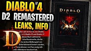 Diablo 4 , Diablo 2 Remastered , Diablo Leaks,   Diablo Immortal (Blizzcon 2019 Info)
