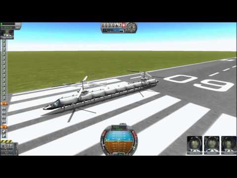 KSP mods #1 - Damned Aerospace