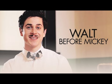 """David Henrie on set talking about the movie """"Walt Before Mickey"""""""