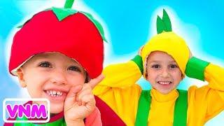 Vlad và Nikita Giả vờ chơi siêu thị