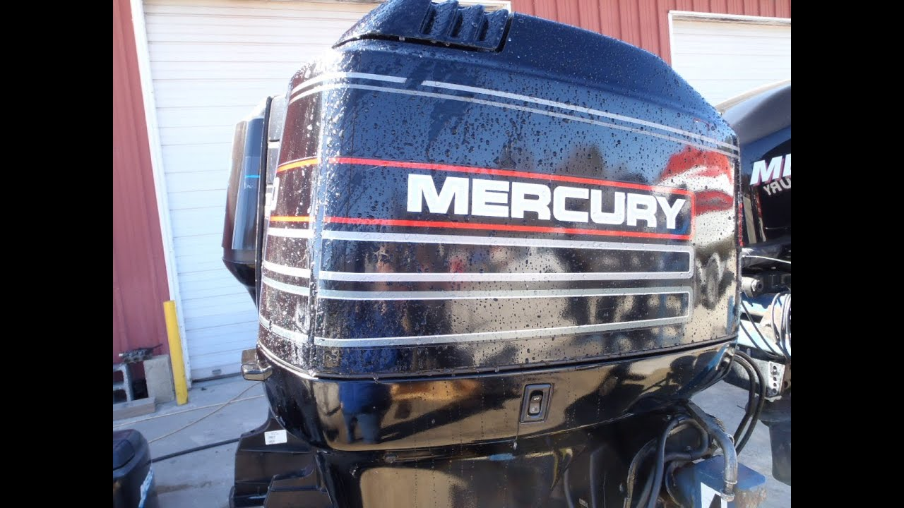 6m3d74 used 1995 mercury 90elpto 90hp 2 stroke remote for Mercury 90 hp outboard motor