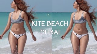 EXPLORING THE AMAZING KITE BEACH DUBAI | Bosslady Shruti