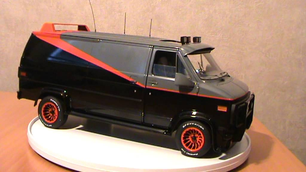 the a team gmc van elite version from hot wheels 1 18. Black Bedroom Furniture Sets. Home Design Ideas