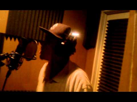 """Mike Feez – Recording His Adlibs 2 """"Top Off"""" in the booth"""