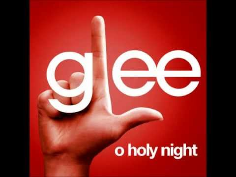 O Holy Night - Glee Cast Version (With Lyrics)