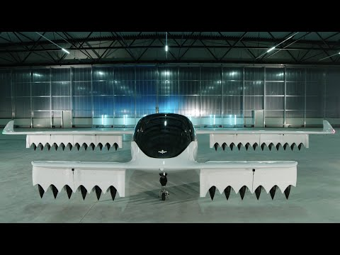 Lilium's new all-electric five-seater air taxi prototype completes test flight