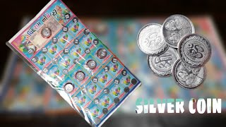 || 🎭CHILDREN'S 🥈SILVER 🎖️COIN SURPRISE LOTTERY || REVIEW AND UNBOXING || INDIAN TOY STORE ||