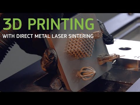 Industrial 3D Printing with Direct Metal Laser Sintering