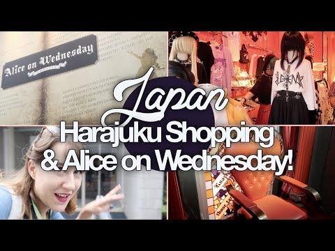 Alice Store & Harajuku Shopping! Japan Summer 2017