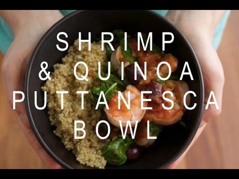 Shrimp and Quinoa Bowl