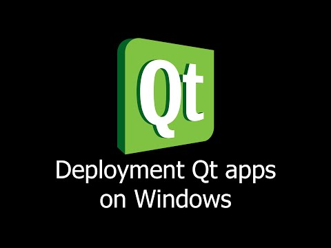 Deployment Qt  apps on Windows