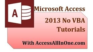 Access 2013 31 - Log In Form 3 Dlookup Function