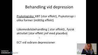 Depression och bipolär sjukdom