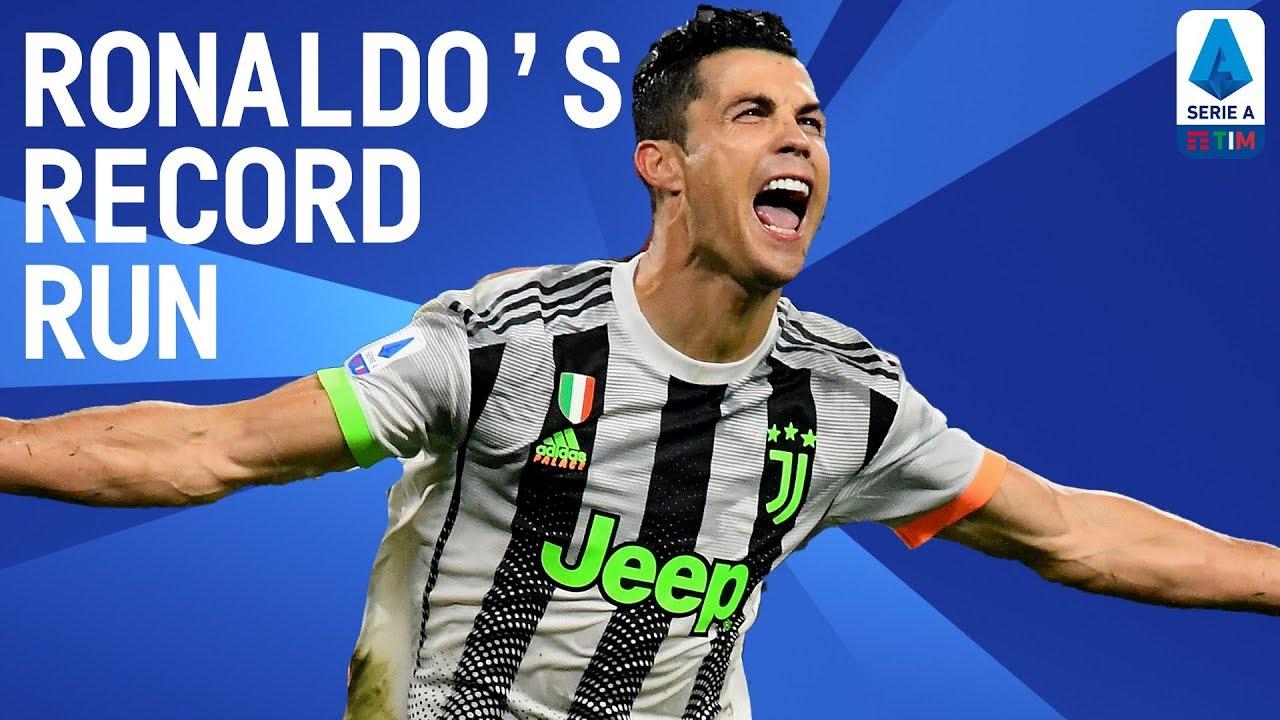 CR7 New Record: 14 Goals In 9 Successive Games!    Happy Birthday Cristiano   Serie A TIM