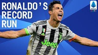 CR7 New Record: 14 Goals In 9 Successive Games!  | Happy Birthday Cristiano | Serie A TIM