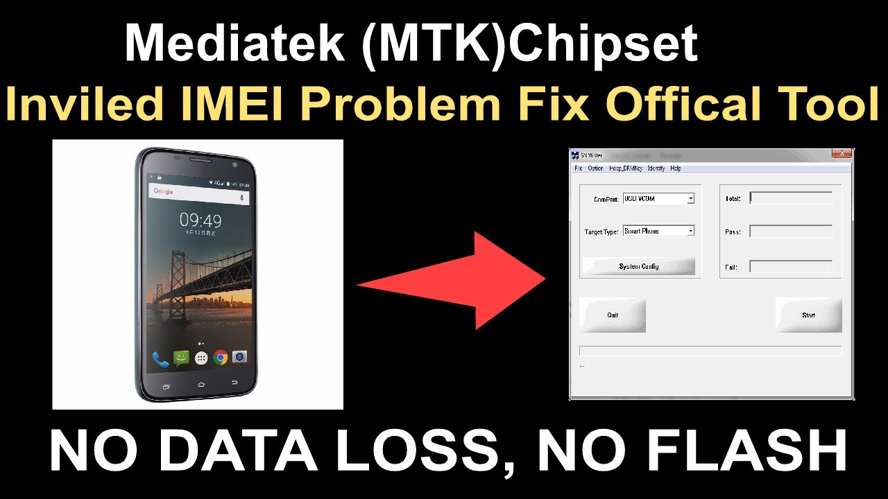 Mediatek (MTK)Chipset Inviled IMEI Problem Fix Offical Tool by GSM Solution