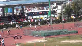 港九區D1中學學界田徑賽 2014-2015 BB 4X100m (Final)