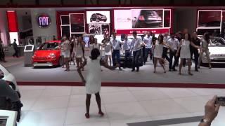 Chorégraphie Salon auto Genève 2013 chez Fiat