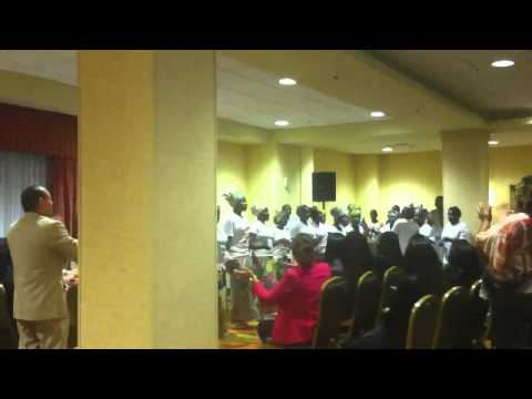 Worshippers From Burundi 7.19.12 (Part 1)