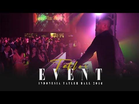 DJ Angger Dimas On Stage at the Indonesia Tatler Ball 2016