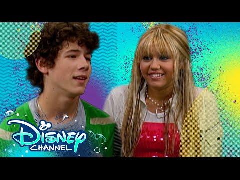 Hannah Meets The Jonas Brothers! 💕 | Throwback Thursday | Hannah Montana | Disney Channel