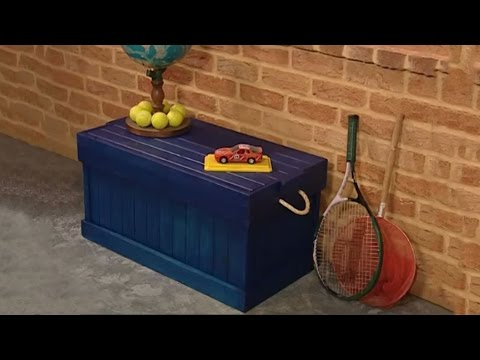 How To Build A Wooden Storage Box