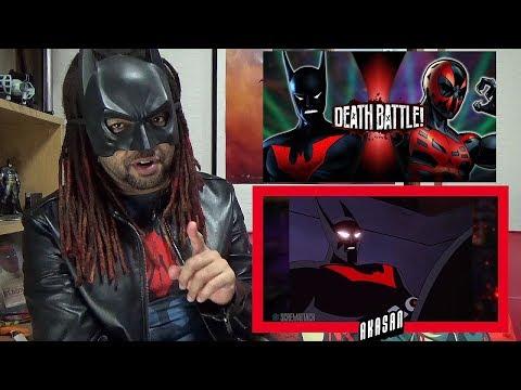 Batman Beyond VS Spider-Man 2099 (DC VS Marvel) | DEATH BATTLE! REACTION & REVIEW