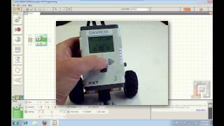 Nxt-g Tutorial 1 - Your First Program