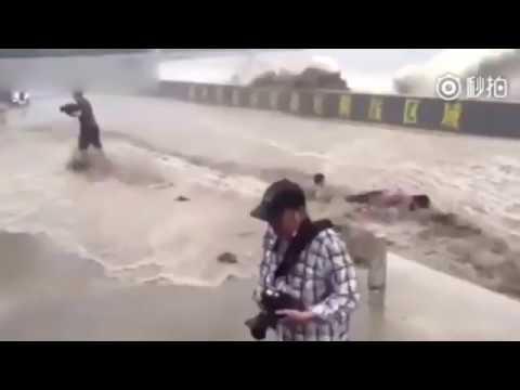 Destructive blow / Zerstörender Schlag / Разрушительный удар стихии 'Massive Green' - видео онлайн