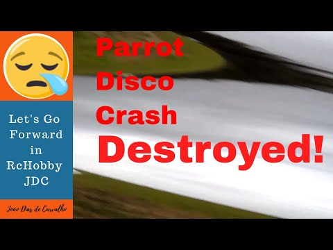 Drone Parrot Disco (How to...) - Fatal crash with the Disco in first 2018 flights, Angola