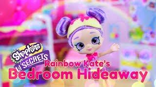 Unbox Daily PLUS Craft:  Shopkins Lil Secrets Rainbow Kate's Bedroom Hideaway