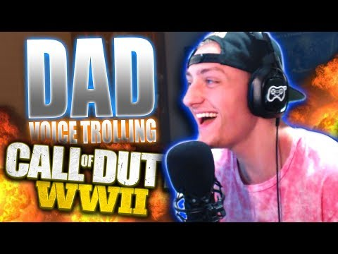 DEEP VOICE DAD vs SON on WW2! Voice Changer Funny Moments! | Best In Class
