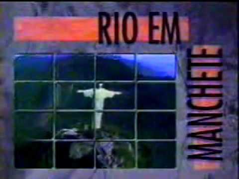 Vinheta Comercias Rio em Manchete:Tv Manchete/RIO