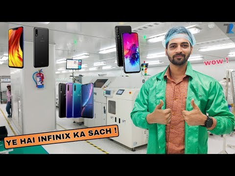 Infinix Factory Tour India - How Infinix Smartphones Are made [STEP BY STEP].