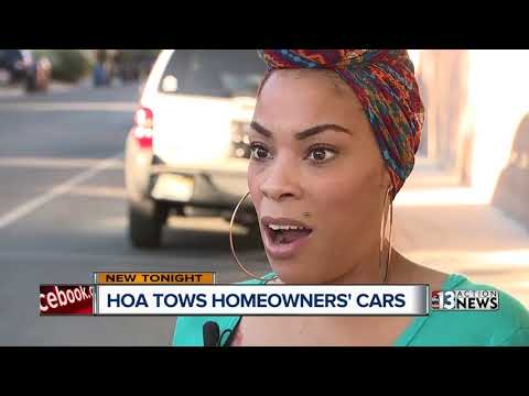 HOA Tows Cars From In Front Of Owners Homes