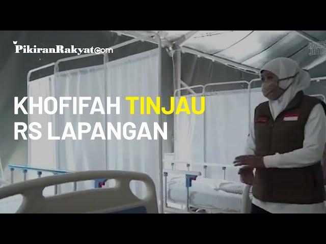 Antisipasi Lonjakan Pasien COVID-19, Pemprov Jatim Siapkan Rumah Sakit Lapangan