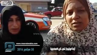 بالفيديو| أزمة الأنابيب في الإسماعيلية.. أسطوانة تتكرر يوميًا